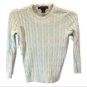 RALPH LAUREN BLACK LABEL Slim Fit Knit Sweater Med